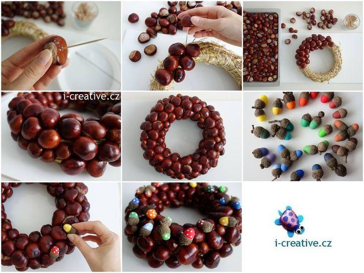 věnec - podzimní dekorace