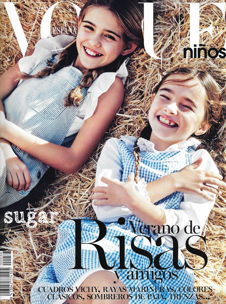 Sugar Kids en la Editorial de Moda para Vogue Niños. Fotógrafo: Franck Malthiery. | SugarKIDS