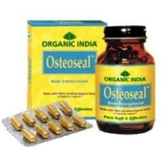 Osteoseal is a certified Organic formula which increases Bone Mineral Density (BMD) in Osteoporosis. Enhances healing of fractured bones, callus formation and improves cartilage regeneration. Provides bio-available calcium, phosphorus, vitamins and amino acids. Promotes healthy bone growth and strong teeth. Safe for long-term use