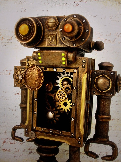 Clockwork robot