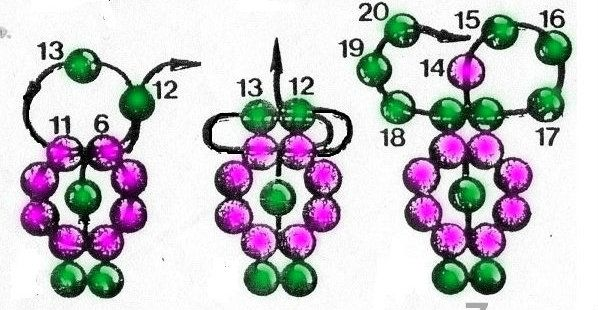 daisy chain bracelet instructions