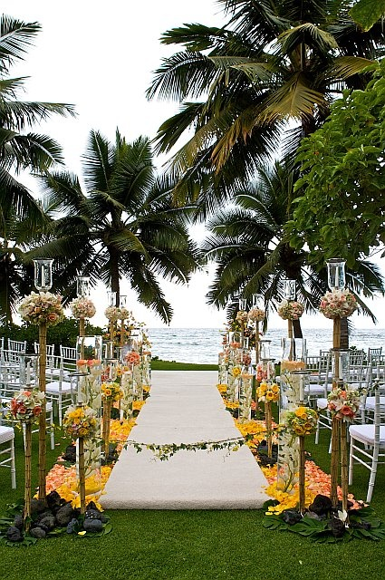 David Tutera  I will bring hawaii to me.. ok so there are no Palm Tree's in Michigan   but I am sure I can think of something...