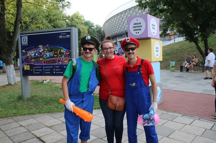 Who else can you meet at UNTOLD? Super Mario brothers! :)