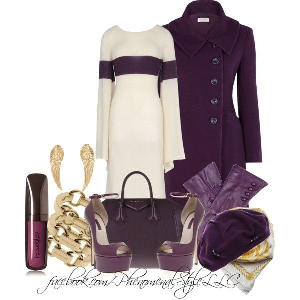 A fashion look from December 2013 featuring Minuet Petite coats, Elie Saab sandals and Givenchy tote bags. Browse and shop related looks.