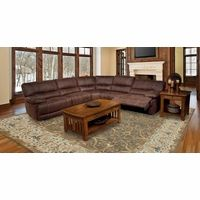 Parker Living Pegasus Brown Sectional Sofa Set MPEG-PACKB-DK