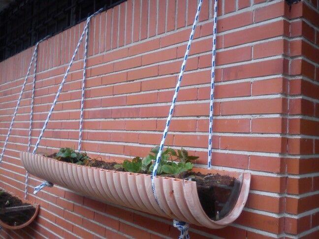 Jard n vertical f cil y barato ecoescuela pinterest for Cobertizo jardin barato