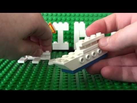Mini Lego Cruise Ship
