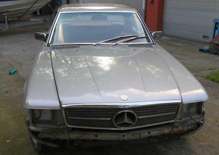 Mercedes 280 SLC , Oldtimer , Bj 1977 ,, Scheunenfund !!