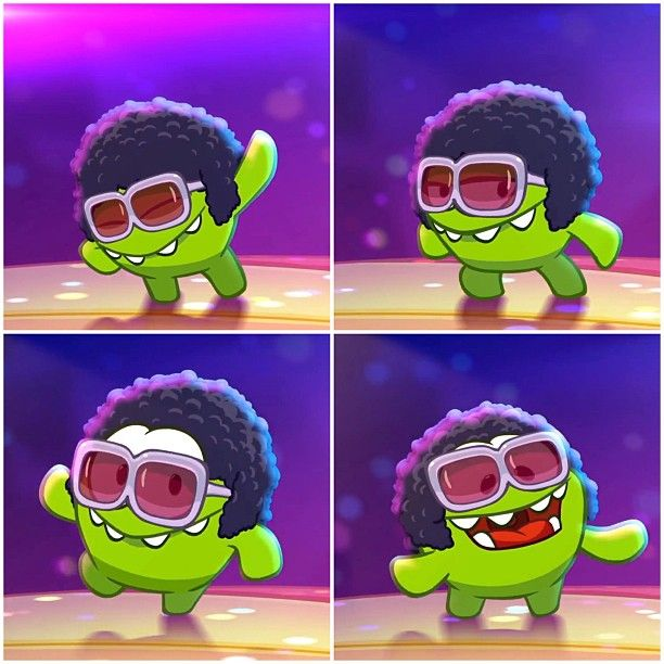 Cut The Rope - Disco Om Nom | Om Nom | Pinterest | Mobile