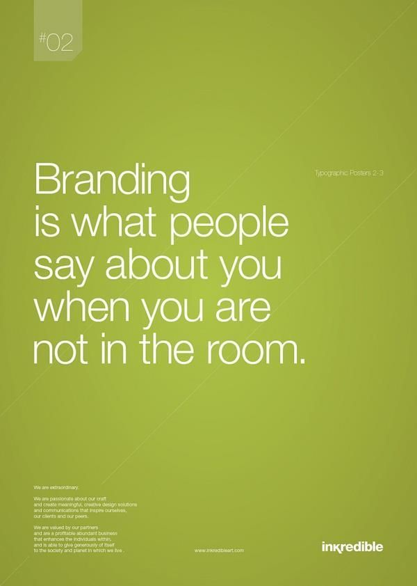 Whether you attempt to build a personal brand or not, you have one. May as well steer that sucker.