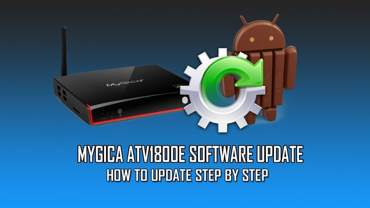 MyGica ATV1800E Manual Update - How to