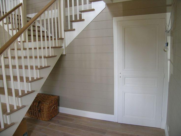 25 beste idee n over lambrisering wanden op pinterest lambrisering verbouwen houten - Wand trap ...