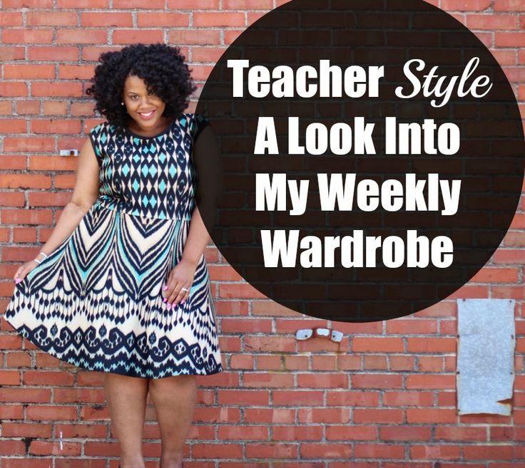 Check out my #teacherstyle tips! #teacherfashion