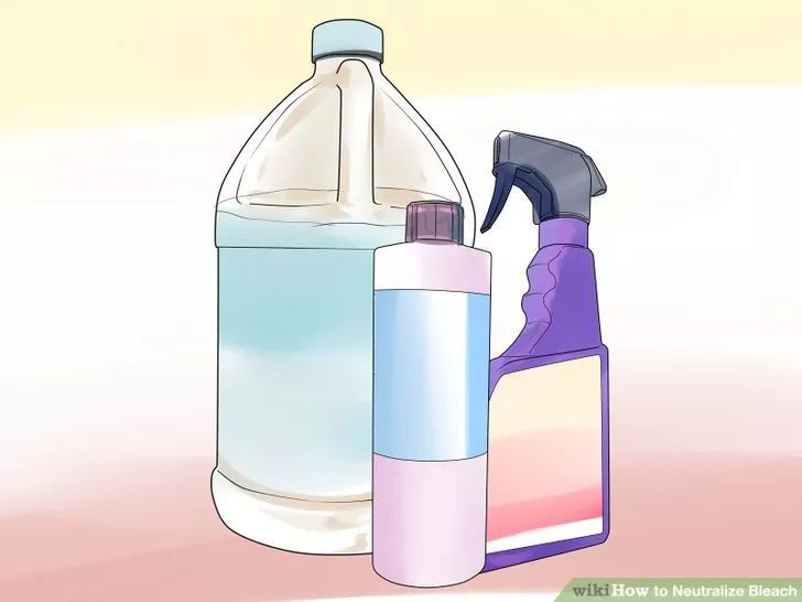 How Neutralize Bleach Step with Hydrogen Peroxide
