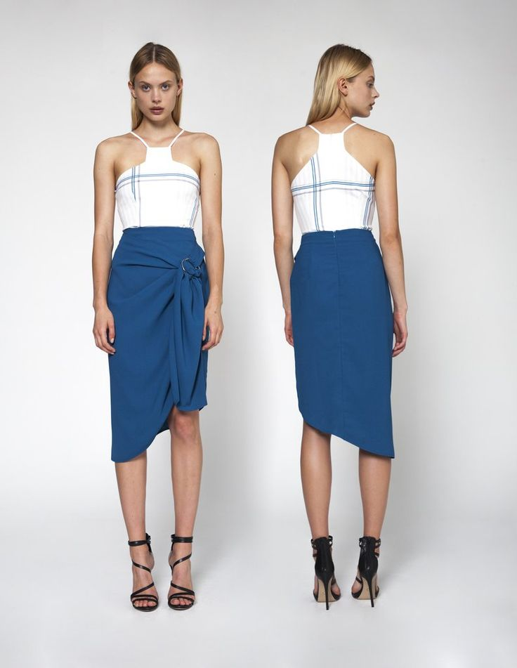 #EstherSkirt - #Hardrock This high-waist skirt bunching up in a knot has all the staples of a classic piece with a dash of originality. Wear it with a peplum top on a weekend getaway or add a blazer for the office. #instafashion #fashionista #fashionable #fashionblog #fashionstyle #fashiongram #fashiondiaries #streetfashion #furfree #stylishlook #hot #sexy  #NeroliAnynome #Womenwear #beautycollection