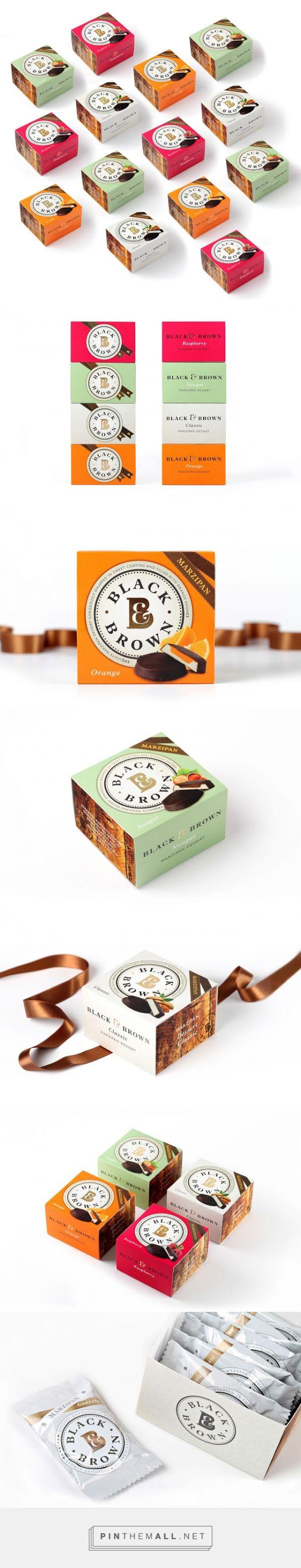 Black&Brown dessert on Packaging of the World - Creative Package Design Gallery - http://www.packagingoftheworld.com/2016/01/black.html