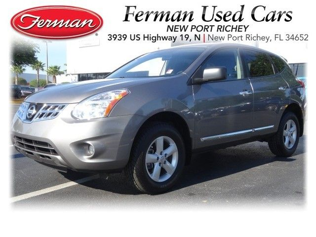 2012 Nissan Rogue S   Platinum Gray  Http://www.fermannissanofnewportrichey.com · 2012 Nissan RogueUsed  VehiclesPort Richey