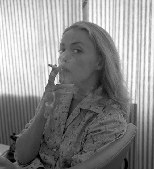 Jeanne Moreau à Venise en 1958