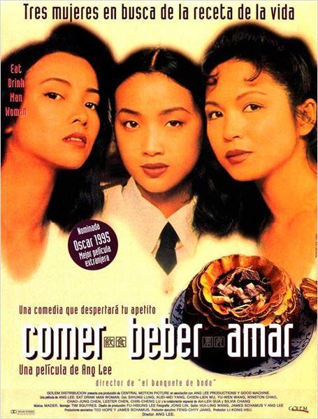 Agridulce comedia sobre la vida de Chu, un viejo chef de Taipei, viudo y con tres hijas (Jen, Chien y Ning) muy distintas pero con algo en común: la rebeldía. Un buen día, sus vidas empiezan a complicarse: una gruñona viuda se muda al apartamento de al lado, alguien se queda embarazada, alguien cae en una profunda depresión, alguien muere y alguien encuentra el amor verdadero. El reputado director Ang Lee volvió a Taiwán para contar otra historia de sentimientos y emociones.