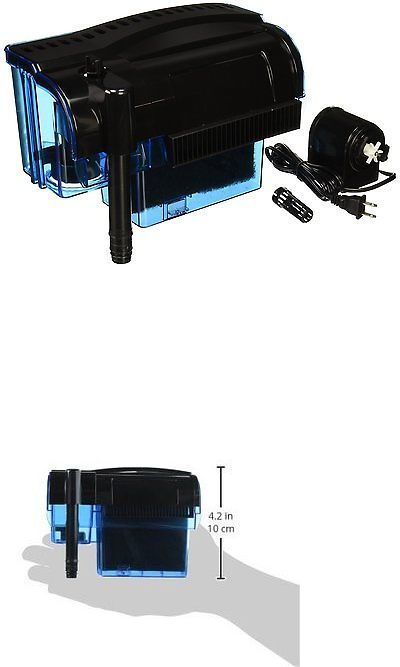 Filters 46310: Pro 100 Gallon Fish Tank Filter Power Aquarium Pump Sterilizer Canister 300 Gph -> BUY IT NOW ONLY: $36.95 on eBay!