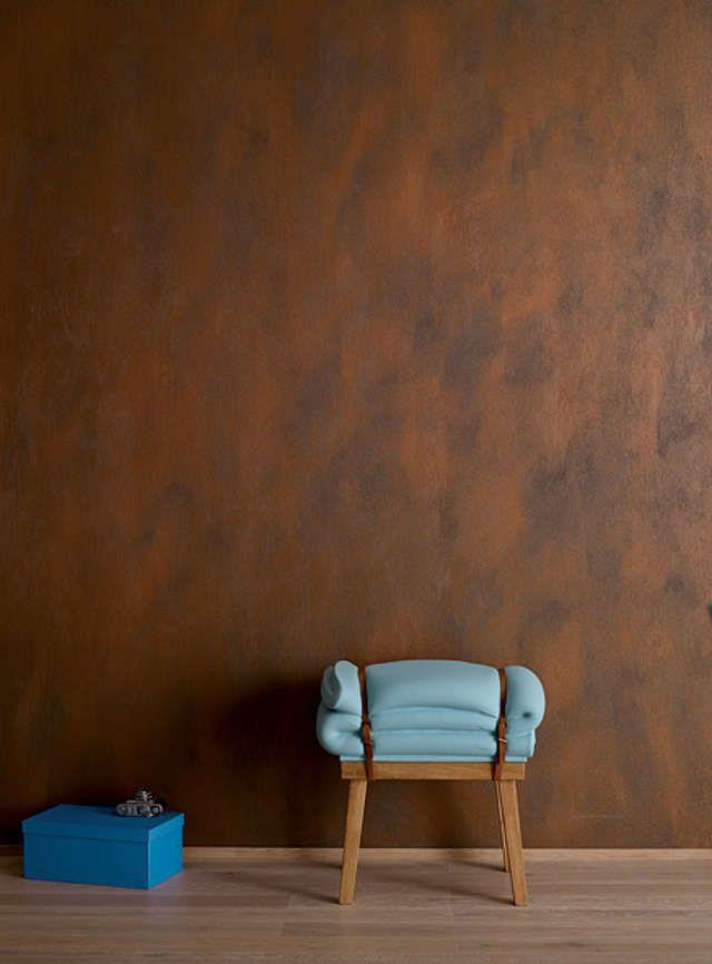 Wande In Rost Optik Diy Academy Wandgestaltung Rostoptik Diy Academy Wohnungsdekoration