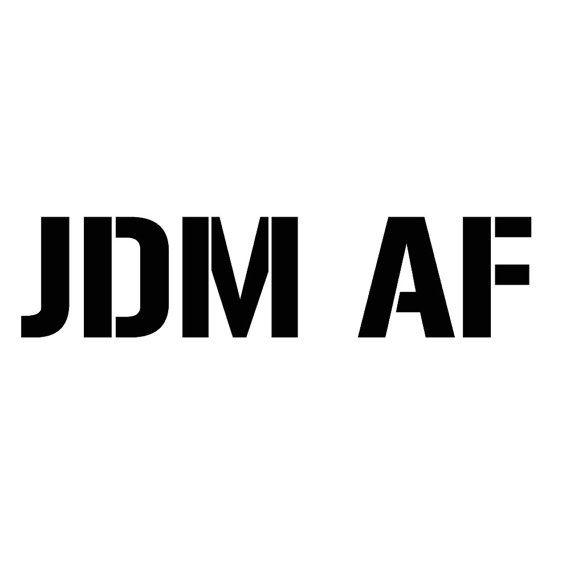 Jdm decal jdm life car scene decals jdm af custom car stickers