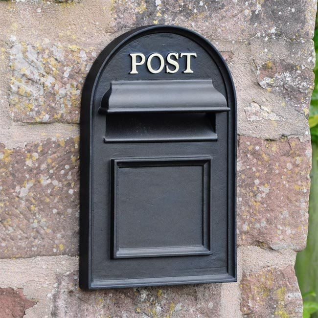 Oxford Through The Wall Post Box | Post box, Post box outdoor, Post box  wall mounted
