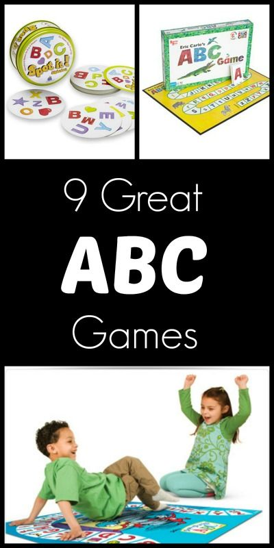 9 ABC Games for Kids.  Workstations that are games, are even more fun!  There's also recess too!