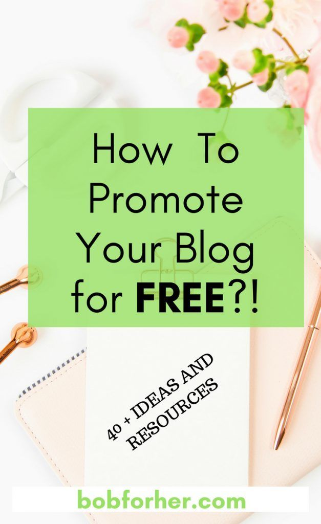 How to promote your blog for free? | bobforher.com At the start of my blogging journey I thought that when I posted something, people would simply magically discover my blog site and get hooked on my material. Well, it is not that simple; getting your post in front of fresh eyes includes heavy promoting. Thankfully, there are many places you can promote your blog for free. In today's post, I'm sharing a few of those places. #blogpromoting #promoteyourblog #promoteyourbloggforfree