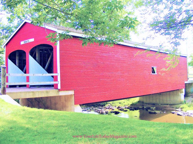 preble county ohio double barreled bridge one of only a few left in the