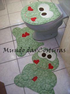 Jogo de Banheiro - 3 peças