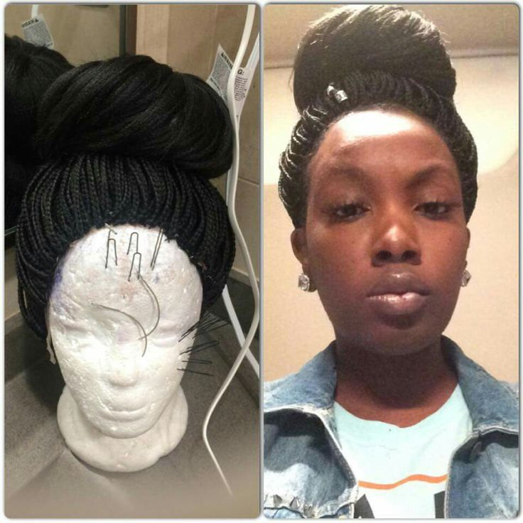 Braided wig FB Nyema Jackson stylist  Weave Wigs and Pieces  Braids wig Wigs Wig hairstyles