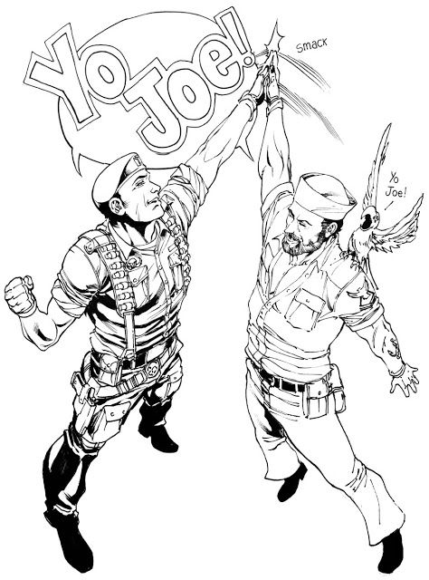 825 best GI Joe images on Pinterest Gi joe Snake eyes and Comic art