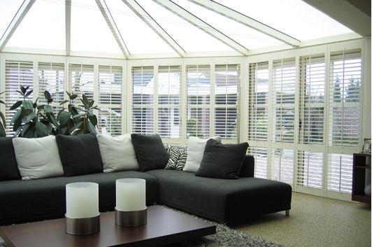 Black & White conservatory idea