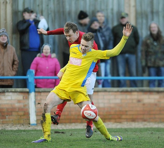 Jake Jones. Picture: Ian Burt    King's Lynn Town FC #kltfc  8/02/14