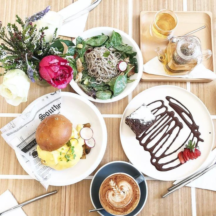 Saturday morning brunch done perfectly by @cafe0.6   Sesame Soba Salad . In-house baked brownie . Coffee . ZZZ tea. Thank you @bon_bon_appetit - SMH for this beautiful spread! . . . . .  #lifeofcha #tea #tealover #brunch #sydneyeats #sydneycafes #sydneyfoodie #sydneycoffee #coffee #instadaily #instafood #instayum #foodporn #foodie #foodiegram #saturdaymorning #scrambledeggs #mushroom #haloumi #briochebun #sobanoodles #chicken #homemadesesamedressing #brownie #nomnomnom #alexandria…