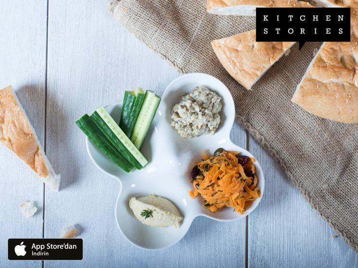 """""""Akdeniz Meze Tabağı"""" @1KitchenStories ile pişirdim – tarifi ücretsiz indir http://itunes.apple.com/app/id771068291"""