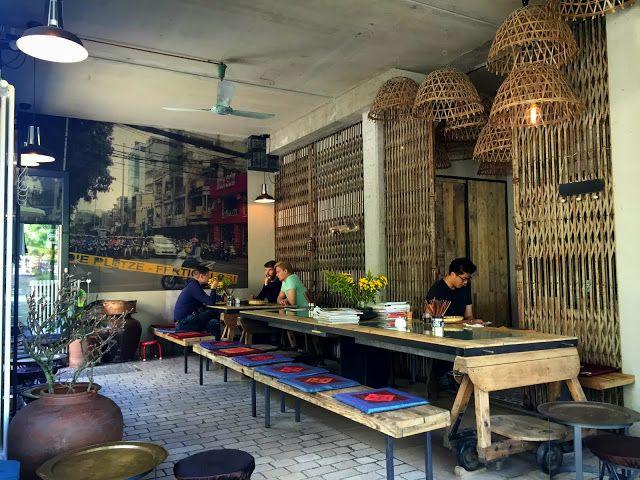 Qua Phe. Hotspot in Mitte open van 9 tot 21 met heerlijke Vietnamese hapjes maar ook Vietnamese thee en koffie.