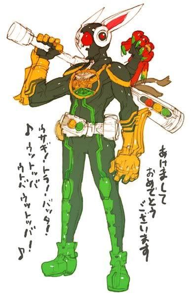 tsundere6thranger:  Lets keep the Toru Nakayamafun going with Kamen Rider and Gokaiger :D
