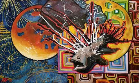 Художник Лейла Кравцова, картины, живопись, современная живопись, галерея, картинная галерея, купить картину, интерьерная живопись, картина в подарок