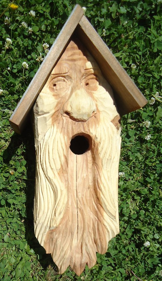 Wood Birdhouse Hanging Birdhouse Original Wood Work