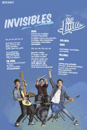 Invisibles - Soy Luna cancion