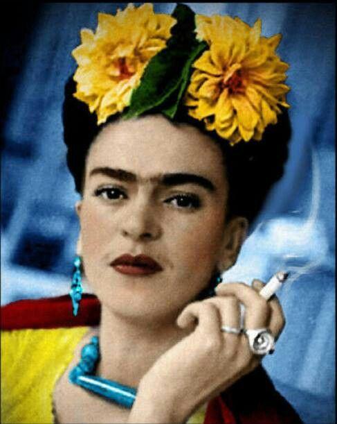Fans of Frido Kahlo via Antonilo Prahlo