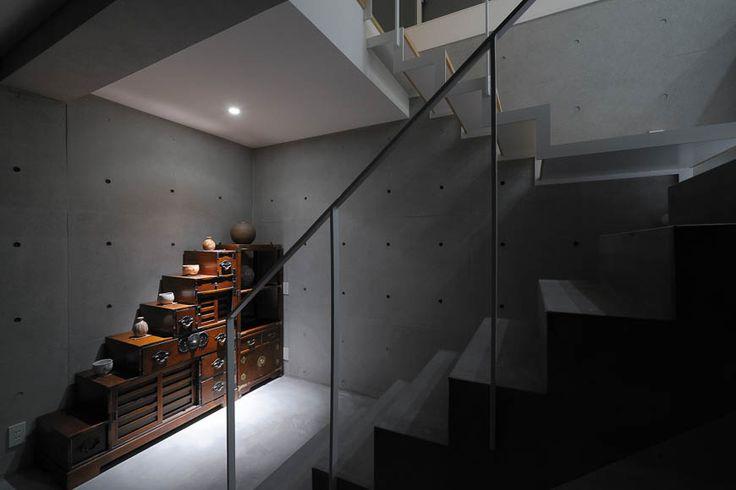 狭小住宅 15坪の狭小旗竿地 アーキッシュギャラリー