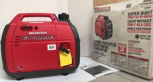 Honda EU2000IC Companion Super Quiet 2000 Watt Portable Generator C616 50