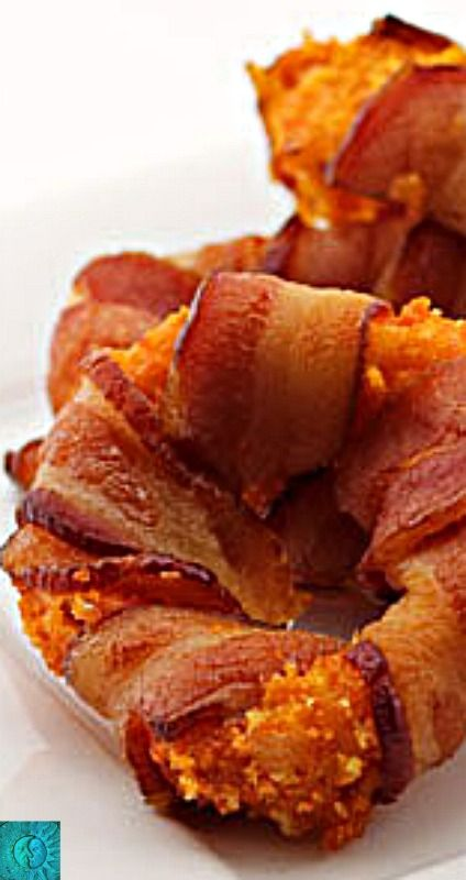 Bacon-Wrapped, Doritos-Crusted Onion Rings - I offer no apologies for this...