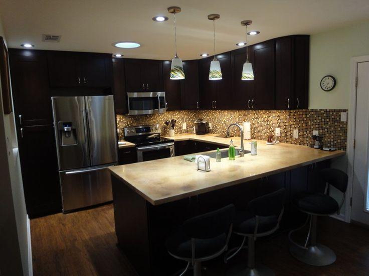 Kitchen Ideas Espresso Cabinets espresso kitchen cabinets | shaker_espresso_kitchen_cabinets_(2