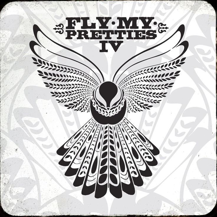 Album cover art from New Zealand's Fly My Pretties