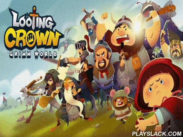 Looting Crown: Grimm World  Android Game - playslack.com , make your own community, enhance it, and preserve it from bad foes. Become the champion majesty of the narrative world. This game for Android will take you into the world of Brothers Grimm fairy stories. You'll meet well-known heroes like small chromatic steering  criminal, furious achromatic canine, three small swines, and many others. Create your own team of superb characters. aid the heroes combat alarming animals. request…