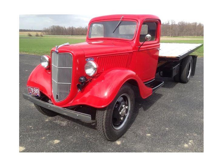 1936 Ford Flatbed Truck For Sale at Hotrodhotline.com
